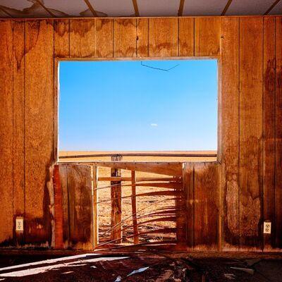 Osceola Refetoff, 'Window with Wire & Tiny Cloud - Cinco, California', 2009