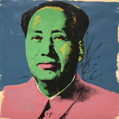 Andy Warhol, 'Mao ', 1972