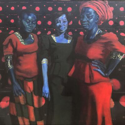 Spencer Evans, 'Happy Sunday (Heritage, Mercy, Gladys)', 2018
