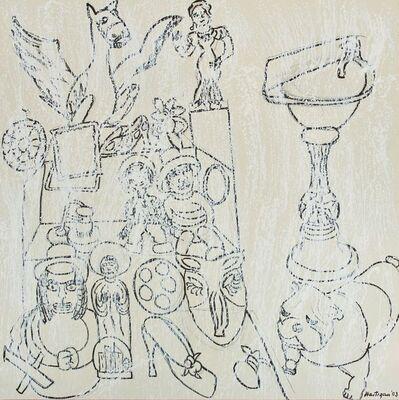 Grace Hartigan, 'Still Life with Bulldog', 2003