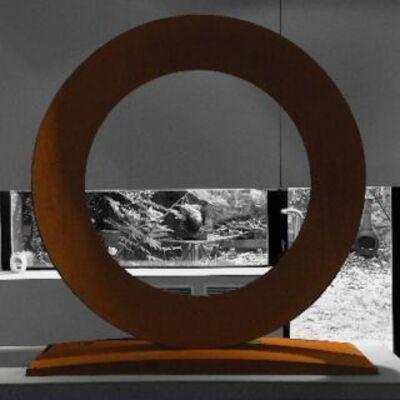 Mauro Staccioli, installation view