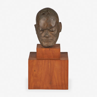 Leonard Baskin, 'Head of William Blake (after Life-Mask)', 1955