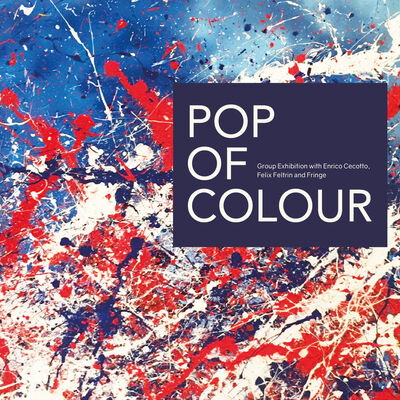 Pop of Colour, installation view
