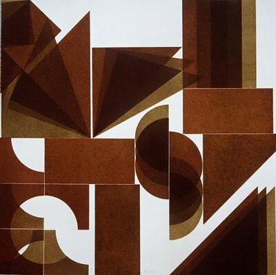 Pol Bury, 'Presenza grafica', 1973