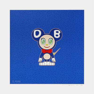 Takashi Murakami, 'DOB Blue 2020', 2020
