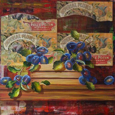 James Jensen, 'Crate Series - Plums', 2014