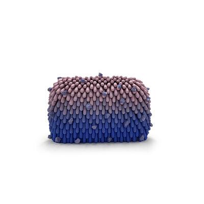 Linda Lopez, 'Blue/Purple ombre with Rocks', 2018