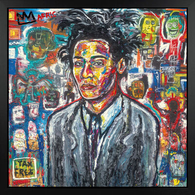 Scarlett Raven, 'Basquiat', 2019