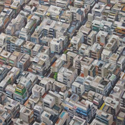 Ralph Fleck, 'Stadbild 3/VIII (Athen)'