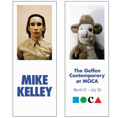 "Mike Kelley, 'Rare Mike Kelley MOCA Museum Exhibition Used and Professionally Cleaned Double Sided Street Banner ""Monkey""', 2014"