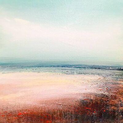 Tessa Houghton, 'Northward Original Oil paint Canvas board Seascape Interiors Signed', 2019