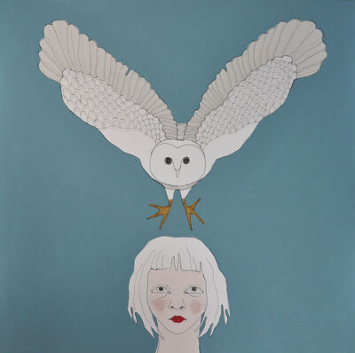 Fiona Morley, 'Child With Owl', 2017