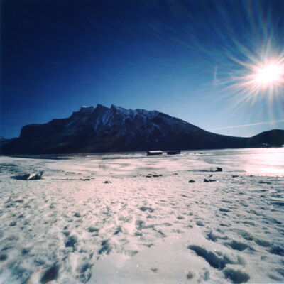 Dianne Bos, 'Lake Minnewanka, Winter Sun', 2012