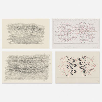 Sewell Sillman, 'collection of four drawings'
