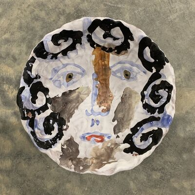 Matt Wedel, 'Face bowl', 2020
