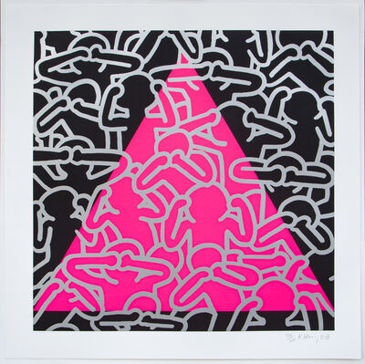 Keith Haring, 'Silence = Death', 1989