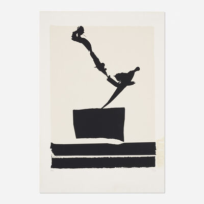 Robert Motherwell, 'Africa 5 (from the Africa Suite)', 1970