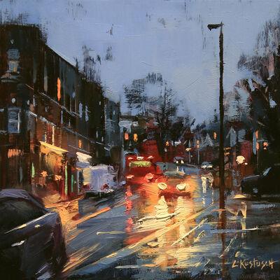 Lindsey Kustusch, 'December Rain in London', 2020
