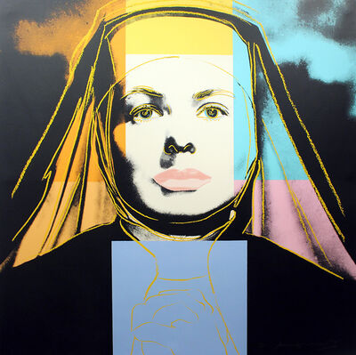 Andy Warhol, 'Ingrid Bergman, The Nun (FS II.314)', Ingrid Bergman-The Nun (FS II.314)