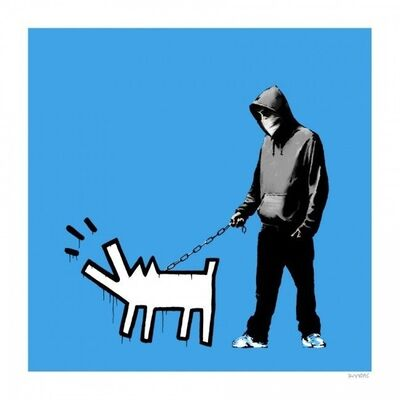 Banksy, 'CHOOSE YOUR WEAPON (SKY BLUE)', 2010
