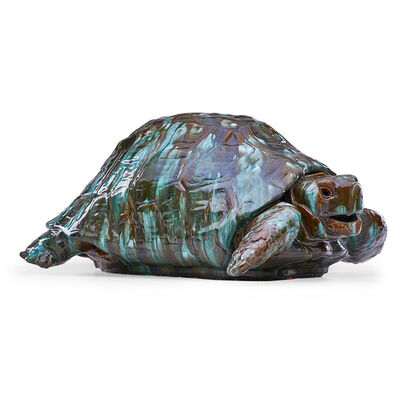 Clément Massier, 'Massive turtle, Golfe-Juan, France', late 19th C.