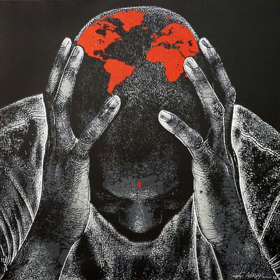 Jef Aérosol, 'Mal de Terre', 2020