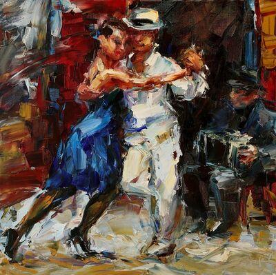 Lyudmila Agrich, 'Street Tango', 2018
