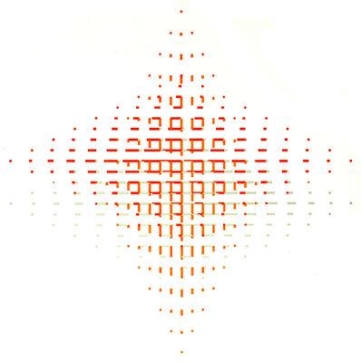 Kathleen Hyndman, 'Orange and Grey Over Gold', 1997