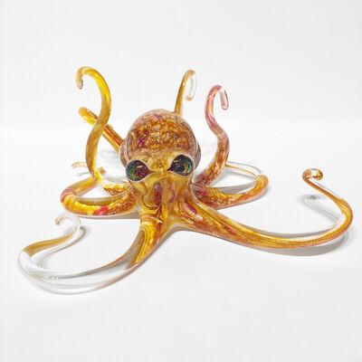 Michael Hopko, 'Small Fire Opal Octopus ', 2019