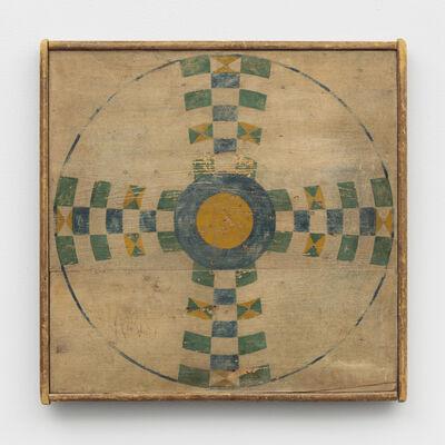 Unknown Artist, 'Parcheesi Game Board', Late 19th Century