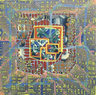 Sarah Walker (b.1963), 'Amplituhedron', 2016
