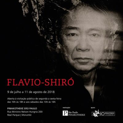 Flavio-Shiró, installation view