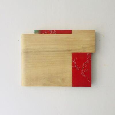 Masaya Eguchi, 'Three Squares (Two Gaude and Benihi)', 2018