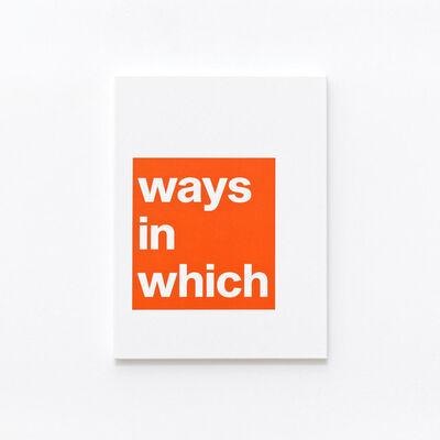 Adib Fricke, 'Ways in', 2021