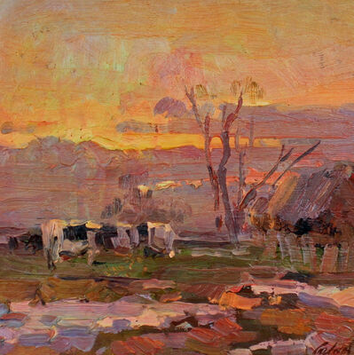 Ovanes Berberian, 'Sunset, Early Spring', Unknown