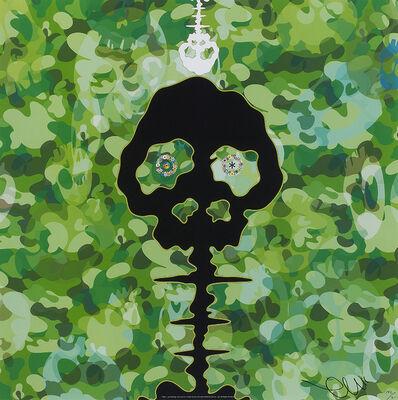 Takashi Murakami, 'Time camouflage moss green', 2009