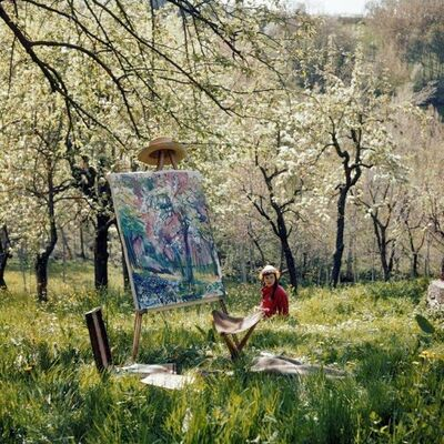 Jacques Henri Lartigue, 'Florette, Opio', 1960