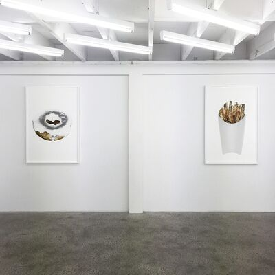All that Glitters    Juan Levya   TWFINEART Project Space, installation view