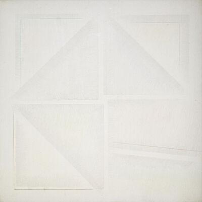 Riccardo Guarneri, 'Dal centro un'uscita a destra', 1969