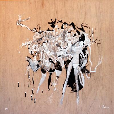 Salvador Luna, 'Alce encuentra hongos ', 2019