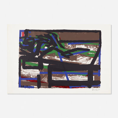 Frank Auerbach, 'Reclining Figure II', 1966