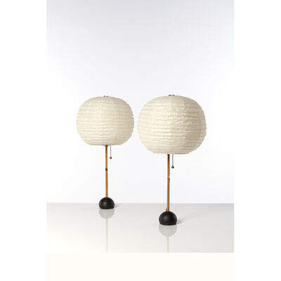Isamu Noguchi, 'Pair of table lamps', 1960