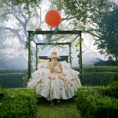 Rodney Smith, 'Maria Holding Orange Balloon, Charleston, SC', 2010