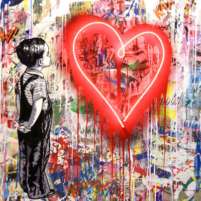 Mr. Brainwash, 'With all my love', 2019