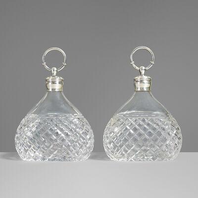 Hermès, 'Decanters, pair', c. 1955
