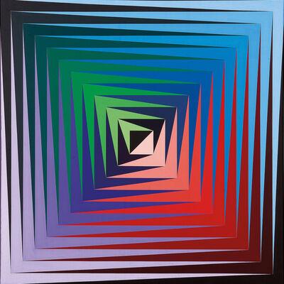 Victor Vasarely, 'Vonal-Fèny', 1975