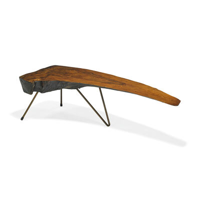 Carl Auböck, 'Rare coffee table with bent-leg construction, Austria'