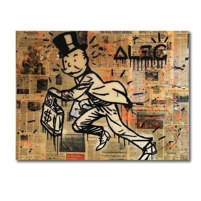 Alec Monopoly, 'Magritte Monopoly', 2015