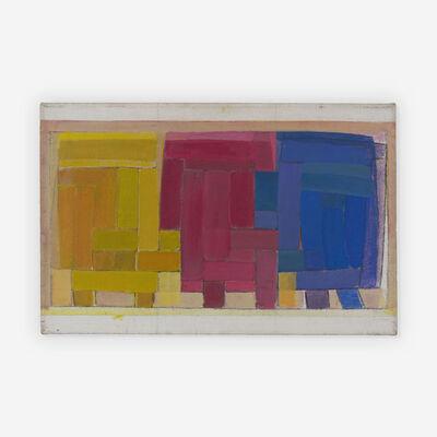 Michael Loew, 'Sketch for Basket triptych', 1964
