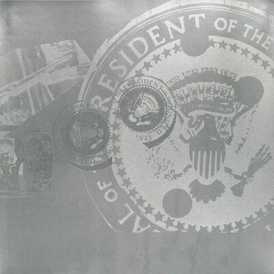 Andy Warhol, 'Flash, II.33 Silver Presidential Seal', 1968